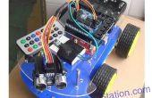 Multi-fonctions automatique déplacer Smart voiture pour Arduino