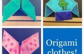 + 3-en-un origami veste, de pantalons et de corset