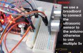 Robot d'obstacles en évitant avec L298N double pont en H contrôleur de moteur et le capteur à ultrasons