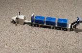 LEGO Semi, remorque, chariot élévateur et caisses