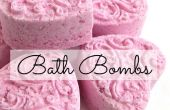 Salle de bain bricolage bombes effervescentes