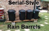 Barils de pluie de série-Style