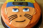 Gâteau de Naruto