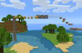 Course d'obstacles de Minecraft