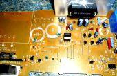 Nettoyage des pièces de vieux PC Boards...