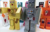 Roblocknics - des Robots en bois magnétiques