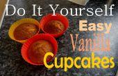 BRICOLAGE faciles Cupcakes vanille