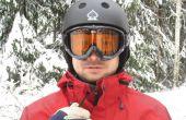 Mains libres intégré dans une veste de ski
