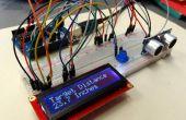 Mesure de Distance pour le capteur à ultrasons LCD Arduino