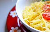 Comment faire cuire la courge Spaghetti | Vegan facile & recette sans Gluten