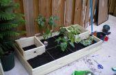 Jardin de Homestead Urban (squarefoot gardening abrégée)