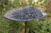 Transformer une vieille plaque de bronze en une mangeoire à oiseaux