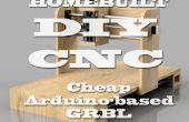 Fabrication artisanale (DIY) routeur CNC - Arduino basé (début)