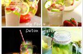 Mon préféré 4 facile Detox eau recettes maison