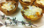 Mini tartes aux oignons de Français