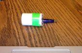 Pistolet de dart PVC pousses jusqu'à 20 pieds