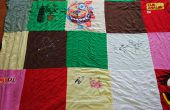 T-Shirt Quilt (méthode simple)