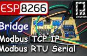 ESP8266 Mode passerelle Modbus RTU esclave - esclave de Modbus TCP IP