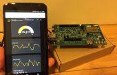 Intel Edison capteur tableau de bord à l'aide de franc-bord/Python/fiole (programmation minimale nécessaire)