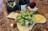 Arbre branche sous-verres et plateau de fromages
