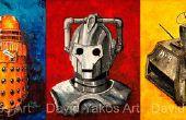 Doctor Who - ange peinture laps de temps de pleurs... Dont Blink
