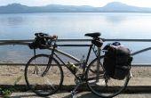 Vélo Camping au Japon-sur la corde raide