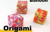 Comment faire Origami un ballon
