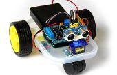 Arduino errant Robot (improvisée)