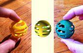 Des atomes aux bits aux atomes : apprentissage OpenSCAD en copiant un jouet pour chat
