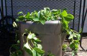 Comment faire un Jar « fraise » d'une cruche en plastique reciblée