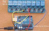Domotique - comment ajouter des relais à Arduino