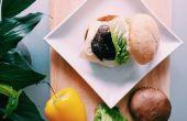 RECETTE | Hamburger aux champignons PORTOBELLO