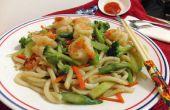 Classique Stir Fry asiatique nouilles Udon