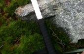Couteau de survie lame de scie