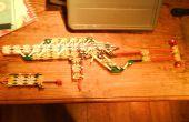 Fusil d'assaut Knex (avec mag détachable)