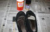 Chaussures paillettes !