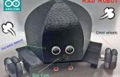 Arduino Omni roue Robot Rover - cours MAKE
