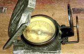 Détermination de la déclinaison magnétique locale par un compas magnétique