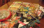 5 bon marché comme exempte des choses à faire à partir de vieilles bandes dessinées