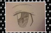 Comment dessiner un oeil Anime