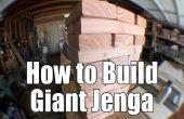 Comment construire un jeu de Jenga géant