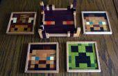 Sous-verres en bois Minecraft