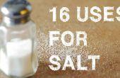 16 utilisations inhabituelles pour sel