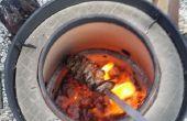 Four tandoor du baril fumeur