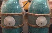 Sels de bain aromathérapie plage bricolage thème