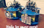Essaim de Bots : Assemblage et Transport coopératif