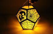 Découpé au laser Spooky lanterne avec Emblaser