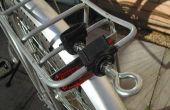 Vélo remorque d'attelage (pour porte-bagage)