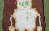 Écharpe de Robot Fleecy funky