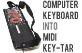 Transformez n'importe quel clavier d'ordinateur en un Keytar Midi